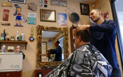 Atlanta Jewish Times – Vintage Barbershop Celebrates 5 Years